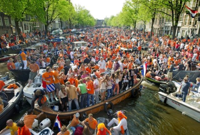 Amsterdam party