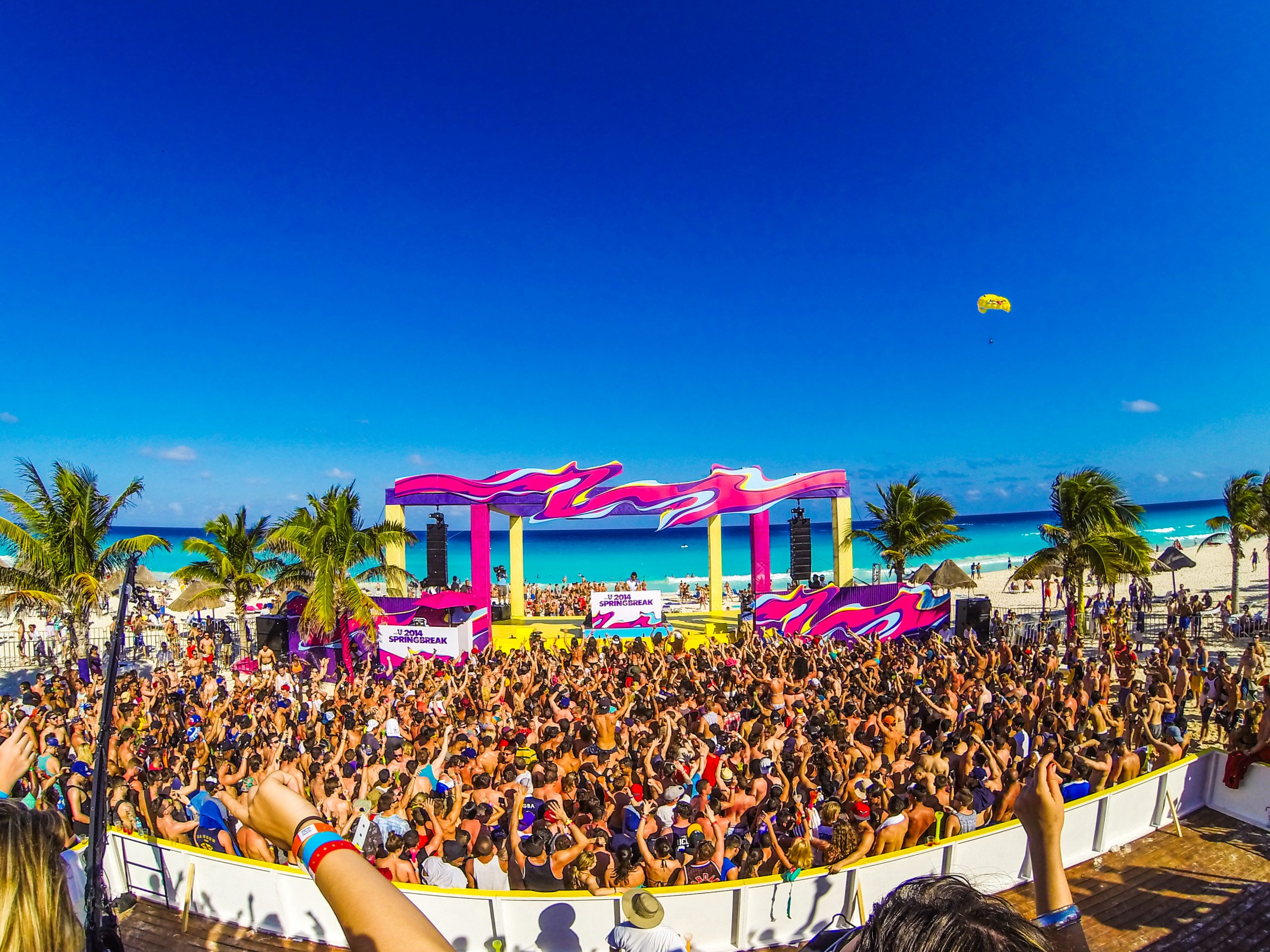 Cancun, the best party destination in 2019