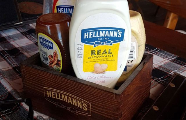 Real huh? Doubt it. Hellmann's Mayonnaise... Fake, obviously