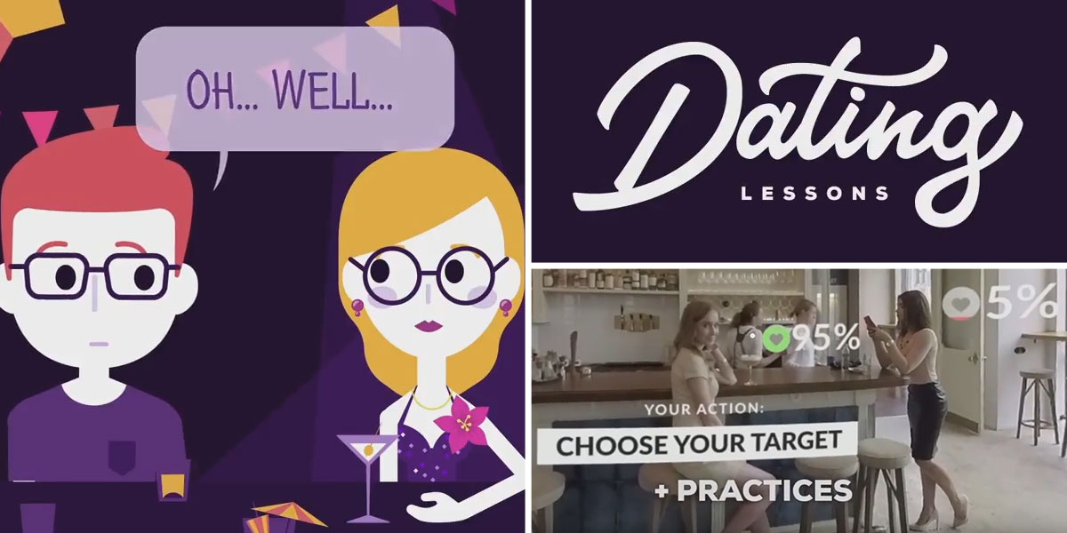Learn to pull women this Christmas with new VIRTUAL REALITY dating coach app