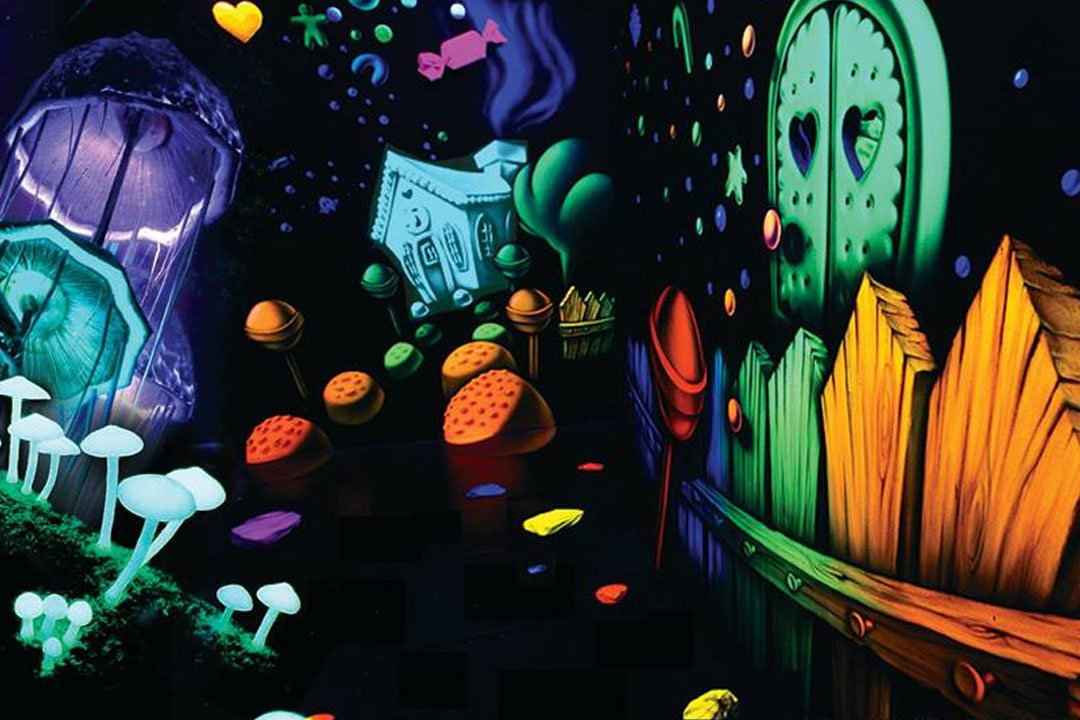 Psychedelic Funhouse experience in London, Birmingham, Manchester and Liverpool