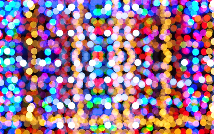 Christmas lights are a must-see