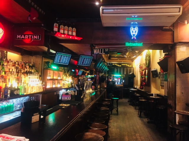 Dow Jones Bar (World's quirkiest bars 2018)