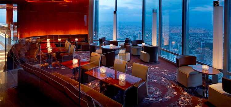 Burj Khalifa Atmosphere bar lounge