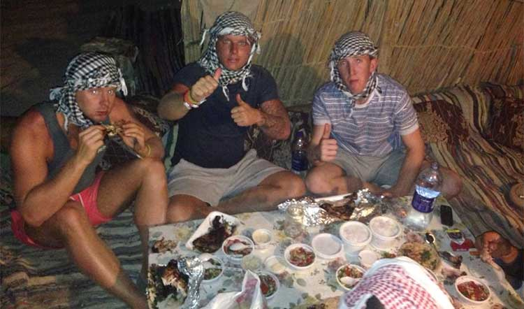 Eating in Egypt