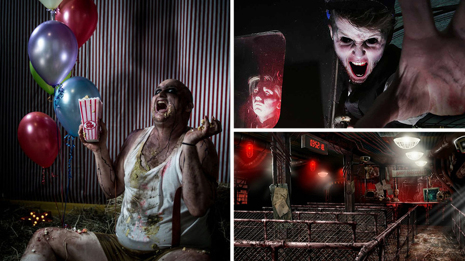 Thorpe Park's Fright Night was very frightening indeed