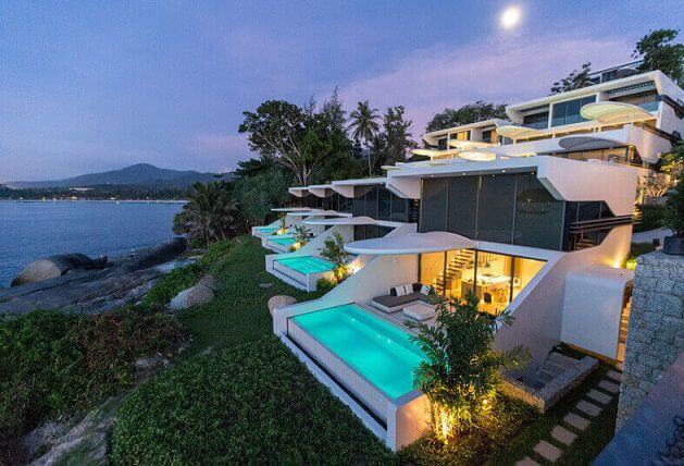 Kata Rocks hotel / bar in Phuket Thailand is stunning