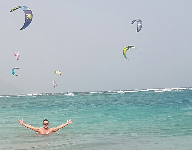 Kite Beach Cape Verde, Sal