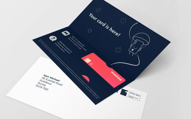 Monzo Bank Card