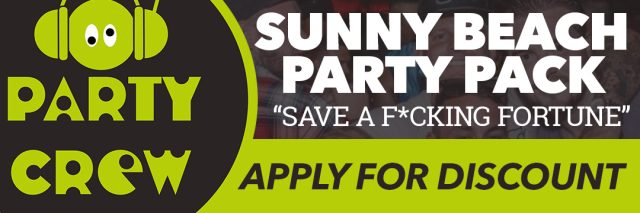 Sunny Beach Party Crew Saver Pack