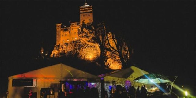 Dracula's After Party 2016 at Bran Castle, Transylvania