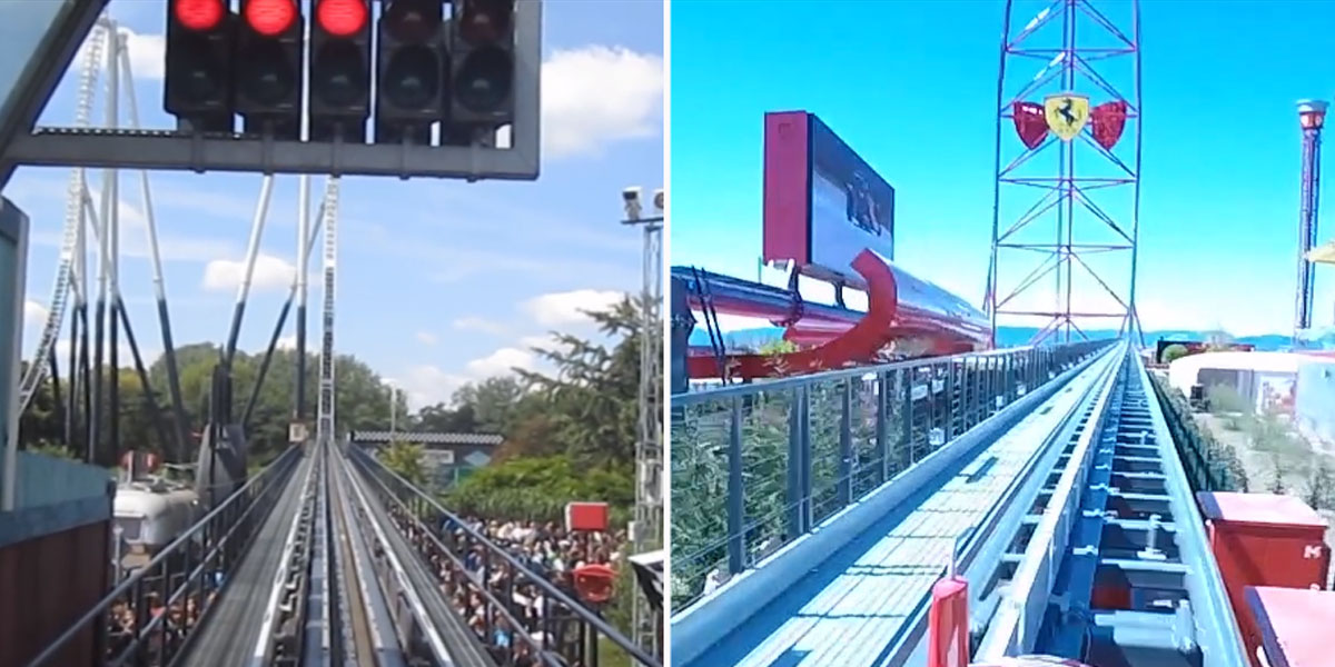 Stealth vs Red Force: Roller coasters go head to head