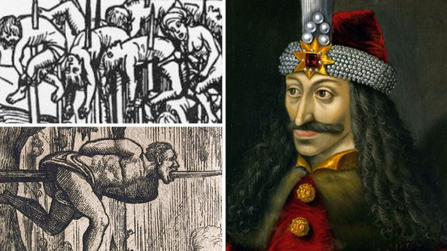 Vlad the Impaler used to torture his enemies