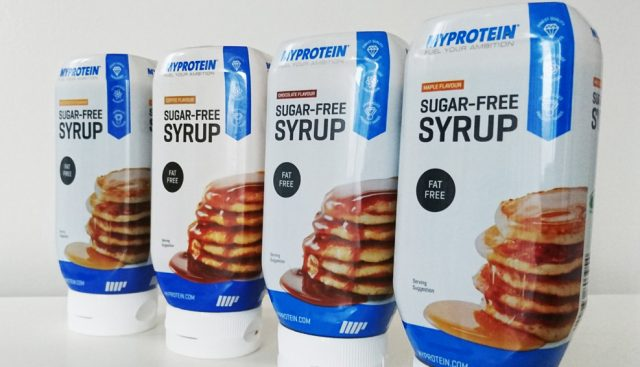 Advertisement: Whey Protein Sugar free Syrup